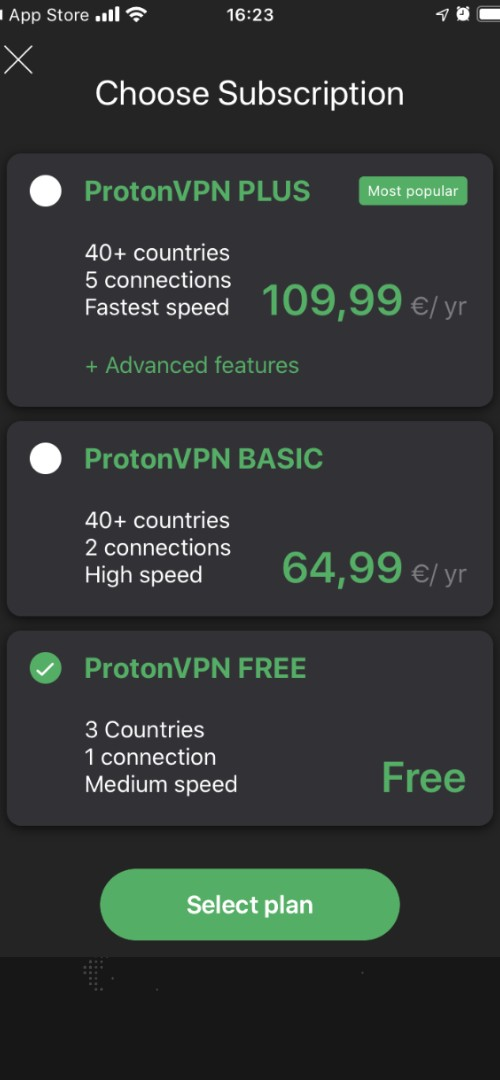 Bovada VPN Screen Part Two
