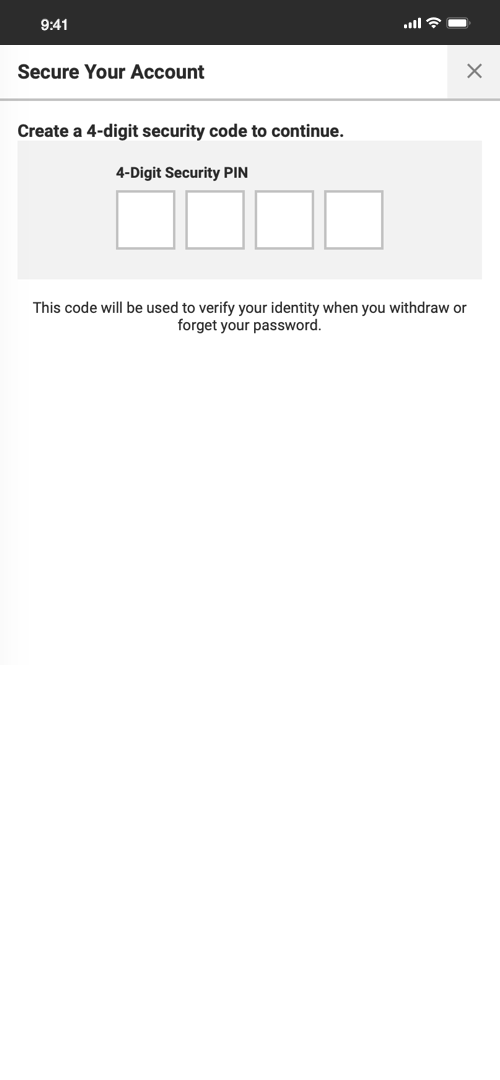 Bodog Sign-up Screen Four