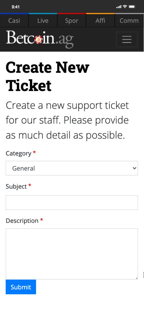 betcoin customer service