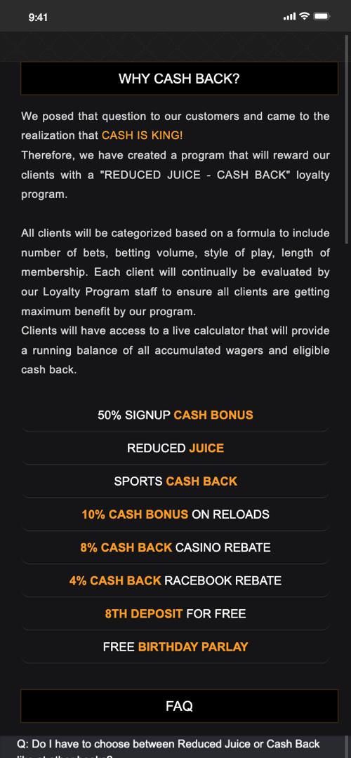 Heritage sportsbook bonus
