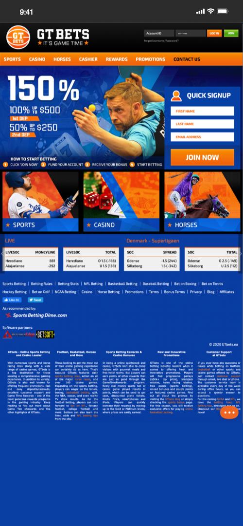 WebMoney Sportbook Screenshot