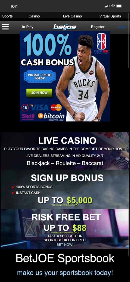 neteller sportsbook screenshot